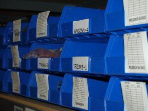 Part Boxes with Quantity Labels
